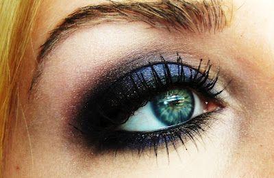 "TiffanyD: ""Smokey Galaxy"" Dark Purple Makeup Tutorial"