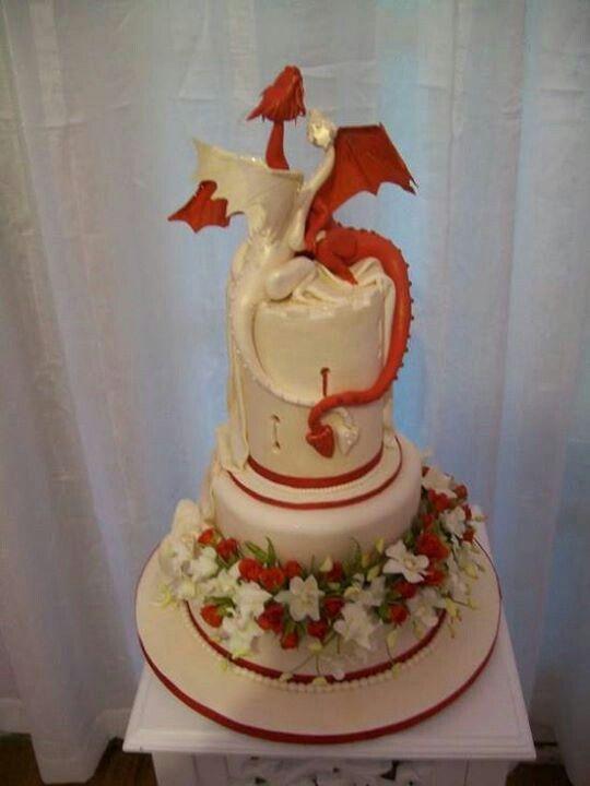 Pin By Bacharu On Wedding In 2020 Dragon Wedding Cake Dragon Cakes Dragon Wedding