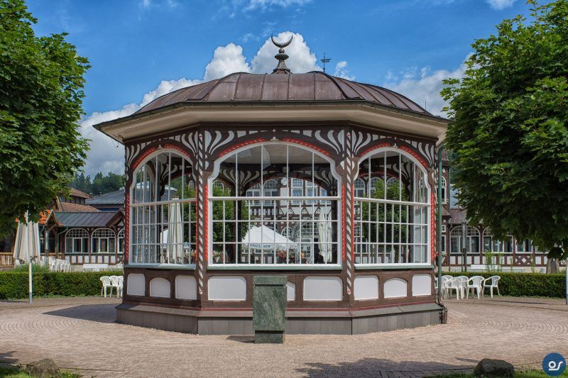 Solebad, Bad Salzungen, Wartburgkreis, Thüringen, Germany