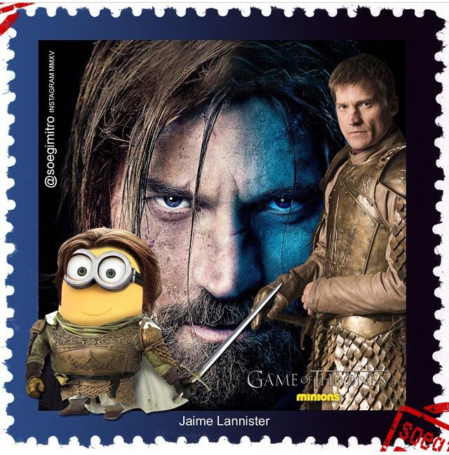 Game Of Thrones Minions ~ Jaime Lannister