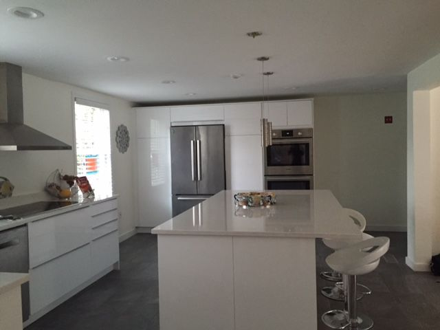 IKEA Ringhult Cabinets With Blankett Handles