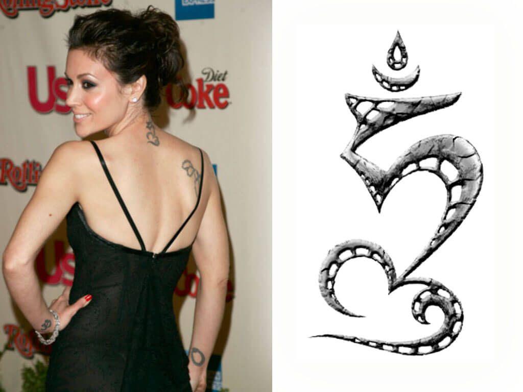 Alyssa Milano Tattoos Removed alyssa milano #viralitystar #love #celebrity #tattoo