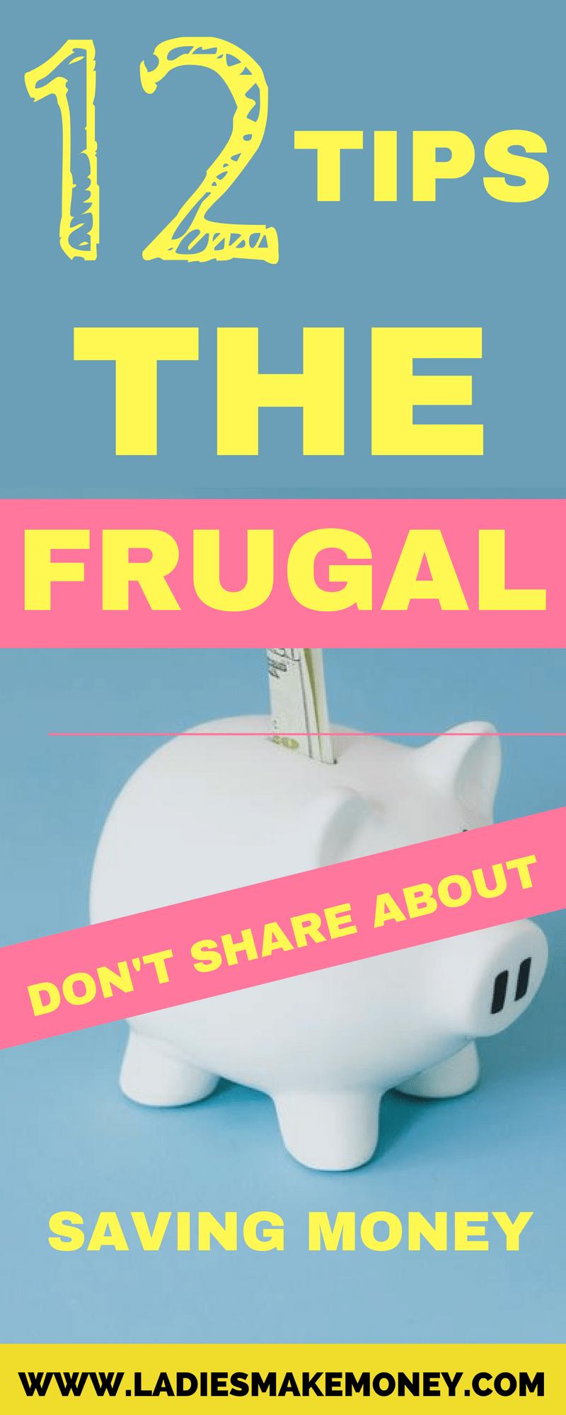 Tipps, die die Genügsamen nicht teilen, um Geld zu sparen (Frugal Living Tips)
