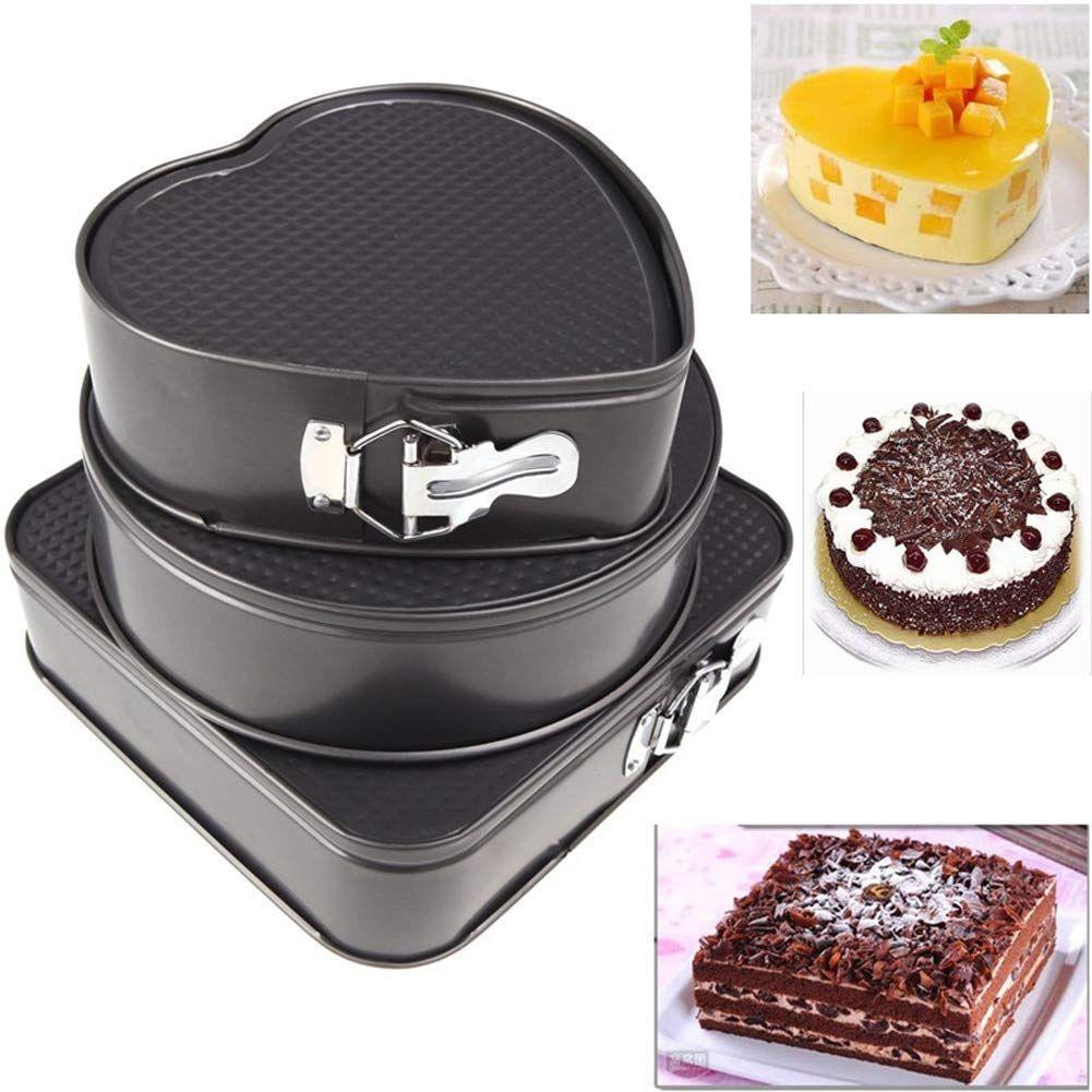 Cake Pan Round Cheesecake Pan Non-Stick Baking Dish Molds Bakeware Tray Tools