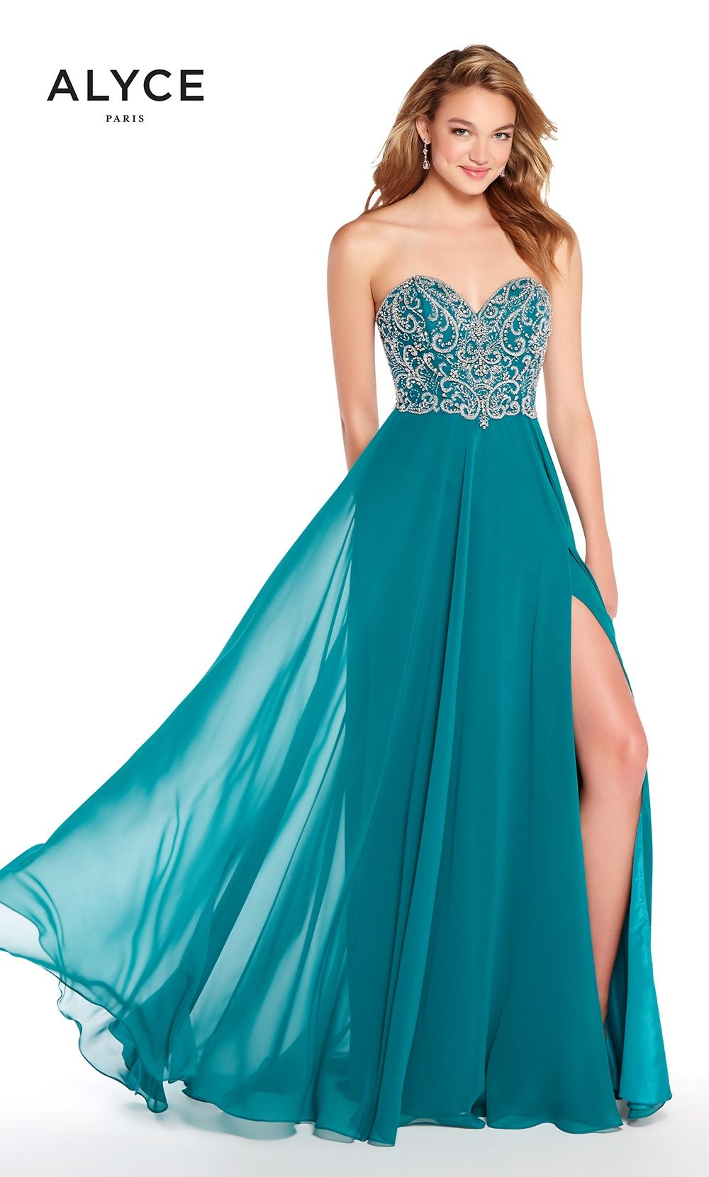 Prom Dresses Evening Dresses by ALYCE PARIS<BR>aay60046<BR>Long ...