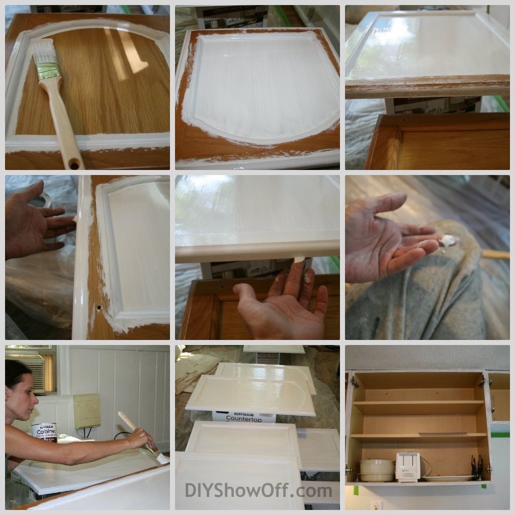 DIY Show Off. Rustoleum Cabinet ...  sc 1 st  Pinterest & DIY Show Off | Coats Painting cabinets and Rustoleum cabinet ...