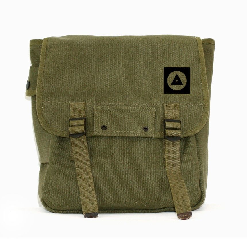 Military Canvas Backpack, Bauhaus Eye, Rucksack, Travel Bag, Laptop Backpack, Geometric, Green, Men's Backpack, Women's Backpack, School Bag by mediumcontrol on Etsy https://www.etsy.com/listing/66698197/military-canvas-backpack-bauhaus-eye