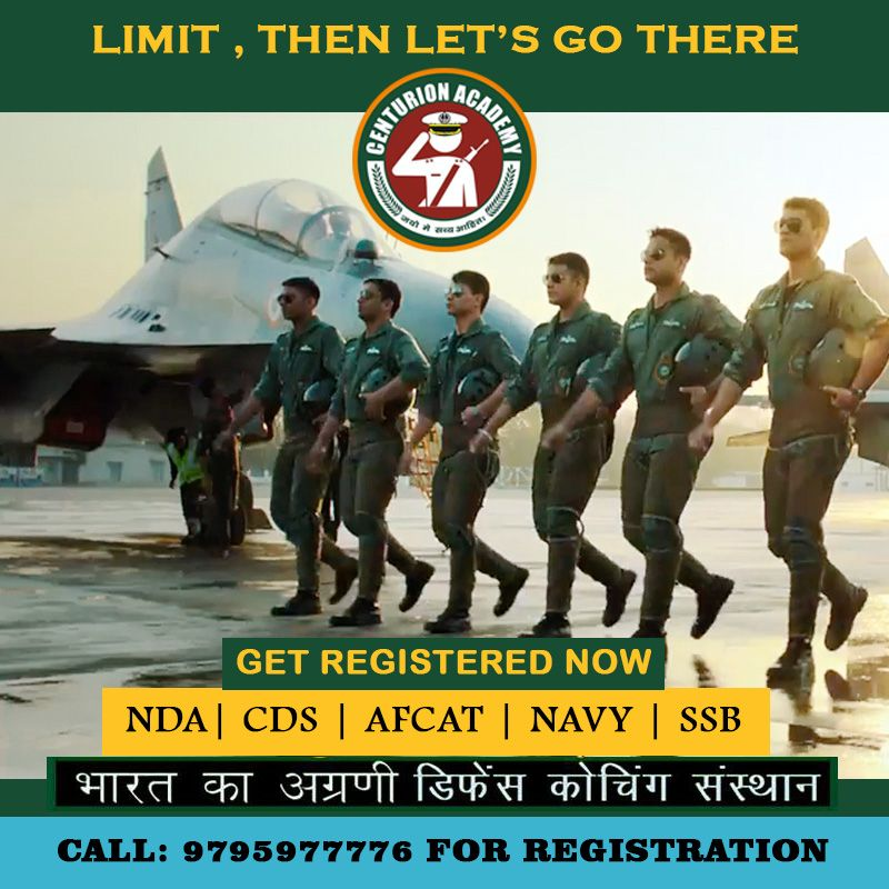 Limit, Then Let's Go There. Join Centurion Defence Academy