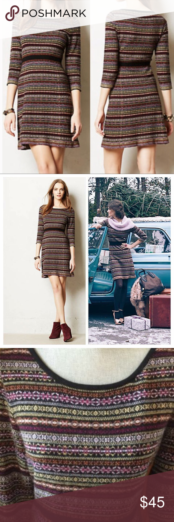 671ec87cdb9 Anthropologie Sparrow Clara Sweater Dress Pre-owned - bought and never wore  myself. No