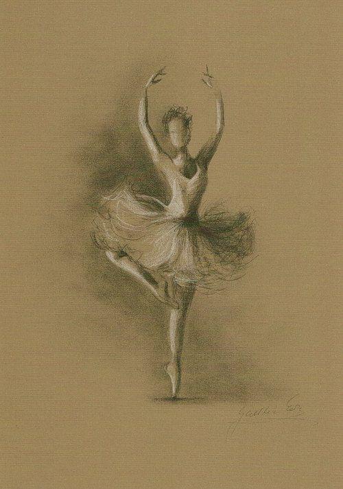 Limited Edition 8 x 12 print/drawing on BROWN PAPER of original pencil drawing by Ewa Gawlik (3/100).