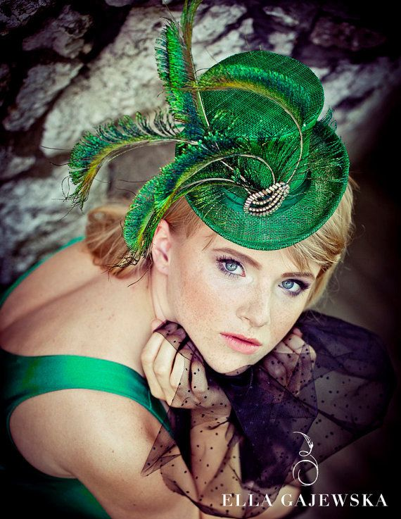 Ella Gajewska Millinery. Designer fascinators   hats.  48efd5ace955