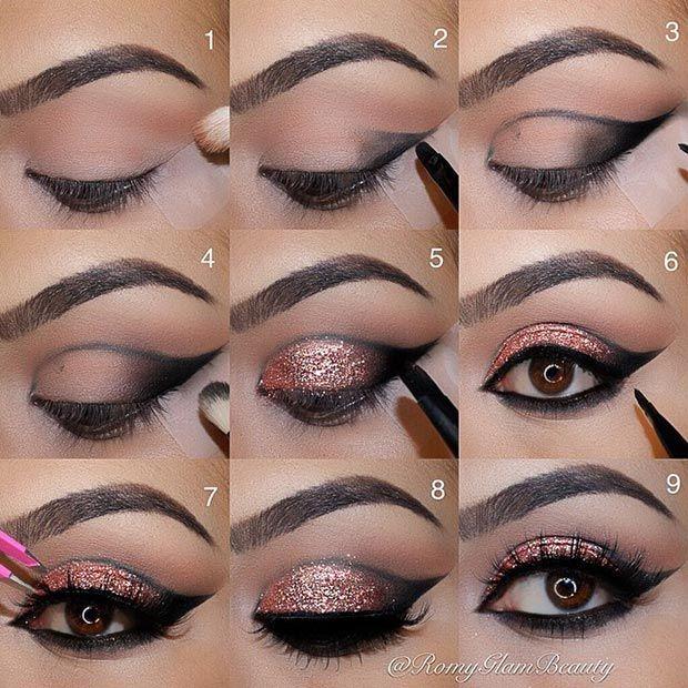 40 Eye Makeup Looks For Brown Eyes Eye Makeup Steps