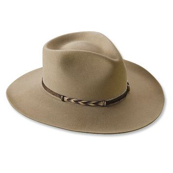 Orvis Stetson Buffalo-Fur Ranchers Hat  Quality Western Hats for Fishing  and Other Outdoor Activities 78c614342c0