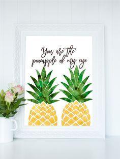 You Are The Pinele Of My Eye Print Printable