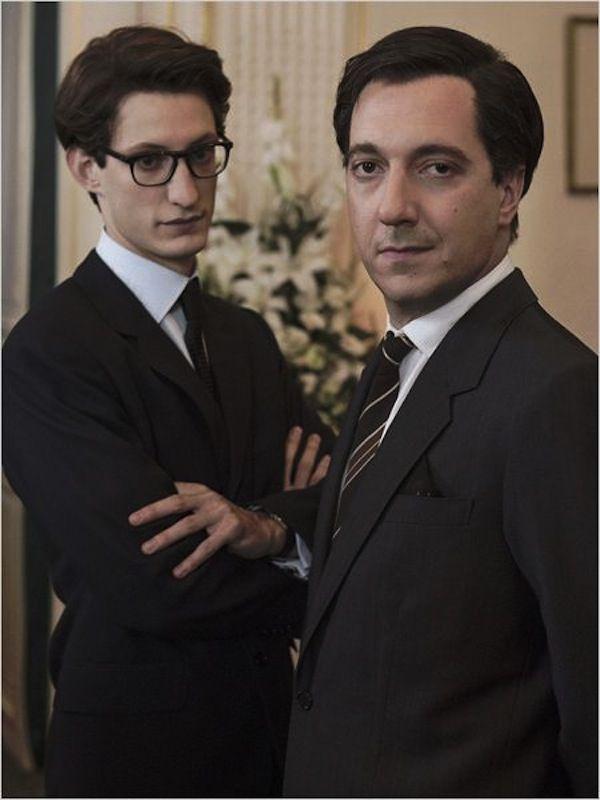 Pierre Niney con Guillaume Gallienne
