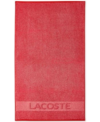 Last Act Lacoste Heathered Cotton 30 X 52 Bath Towel Lacoste