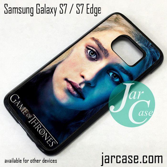 Game Of Thrones Daenerys Targaryen Phone Case for Samsung Galaxy S7 & S7 Edge