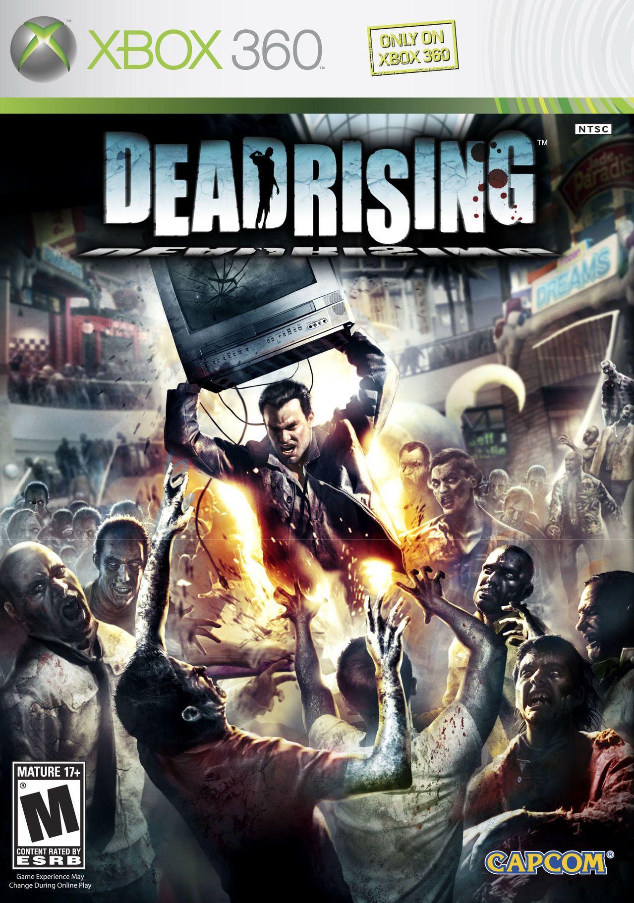 Deadrising Xbox 360 Póster De Cine Xbox 360 Muertos Vivientes