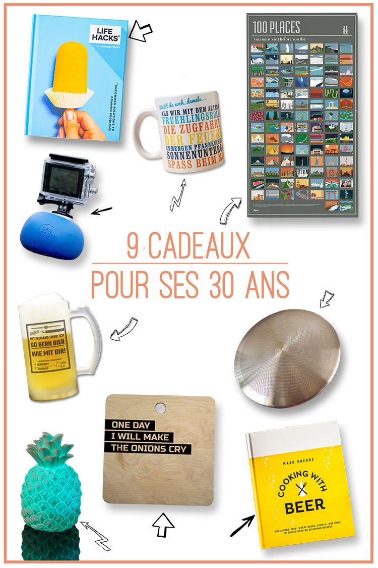 Cadeau Homme 30 Ans 9 Cadeaux Pour Marquer Le Coup