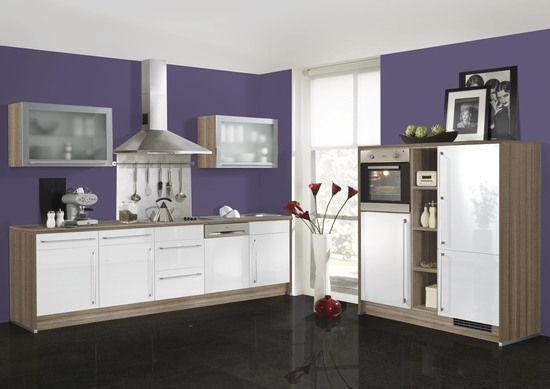 Einbauküche Alnoplan u2022u2022 Winkelküche mit separaten Seitenschränken - küchenblock mit elektrogeräten