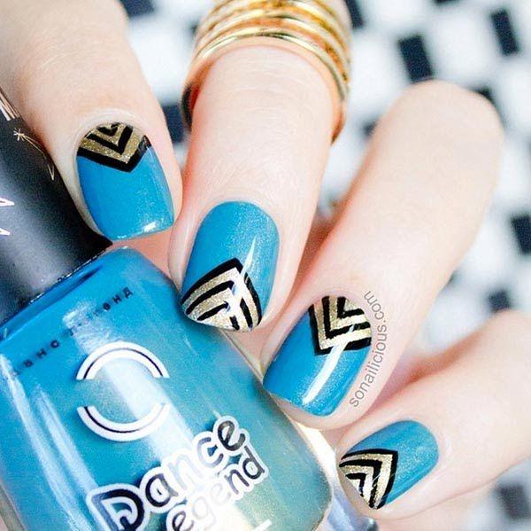 101 Classy Nail Art Designs For Short Nails Short Nails And Classy