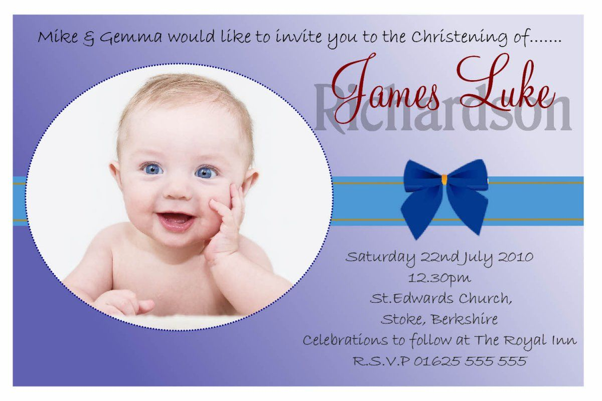 Baptism Invitation Card For Baby Boy Christening Invitations Baptism Invitations Invitation Cards