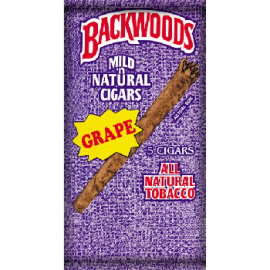 Backwoods Authentic Grape Cigars (8x5 Pack) Price £68.51