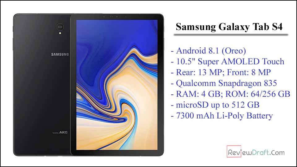 Samsung Galaxy Tab S4 Price In Bangladesh Full Specification Samsung Galaxy Tab Galaxy Tab Samsung