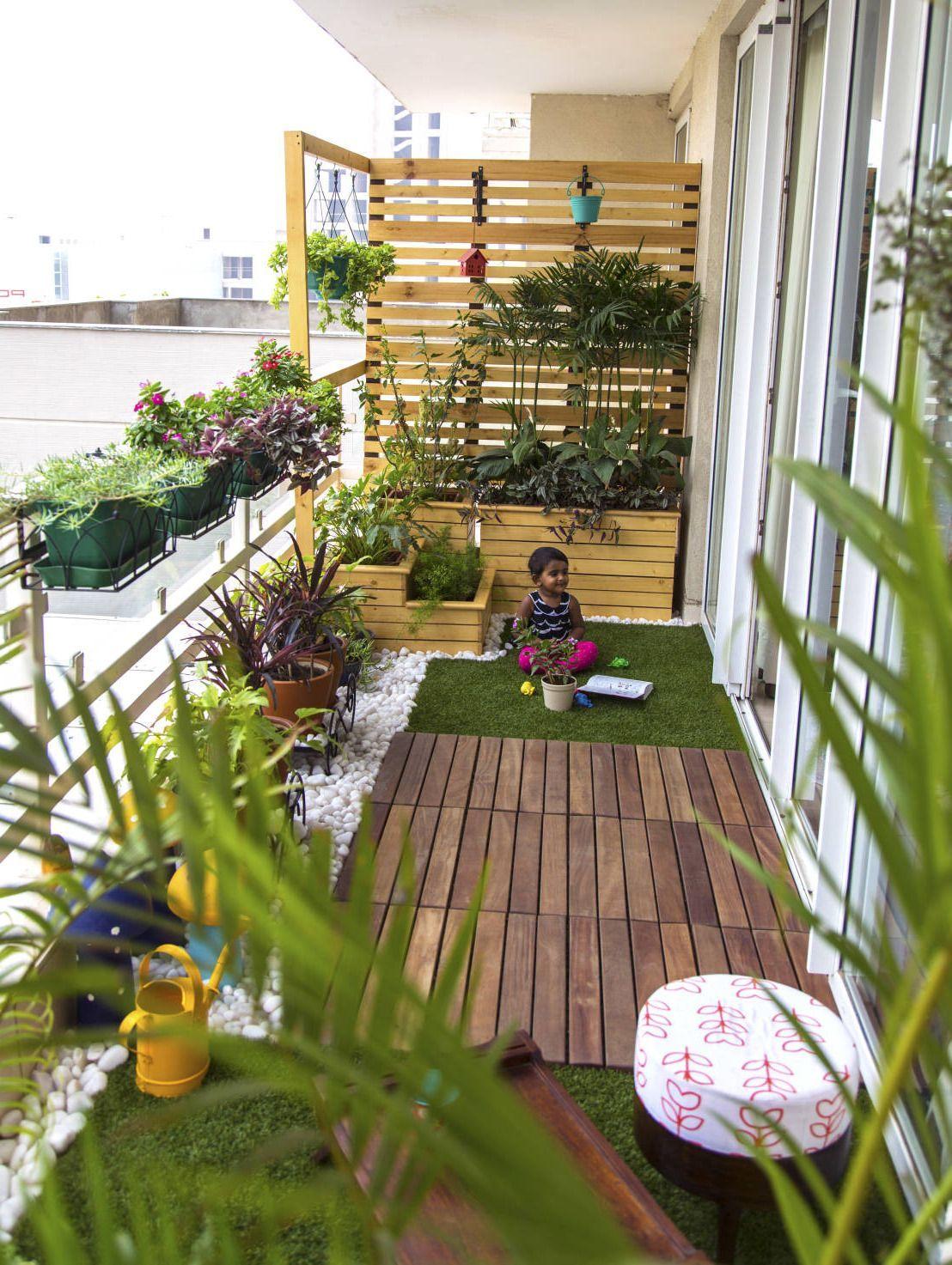 Very Small Garden Ideas India Check More At Www Arch20 Club These Yard Style And Design Ide In 2020 Terrace Garden Design Small Balcony Garden Luxury Garden