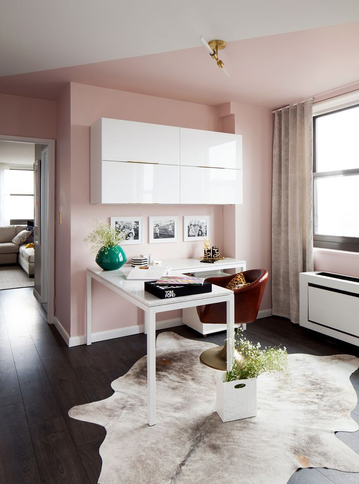 a brown nyc apartment gets a colorful makeover  living