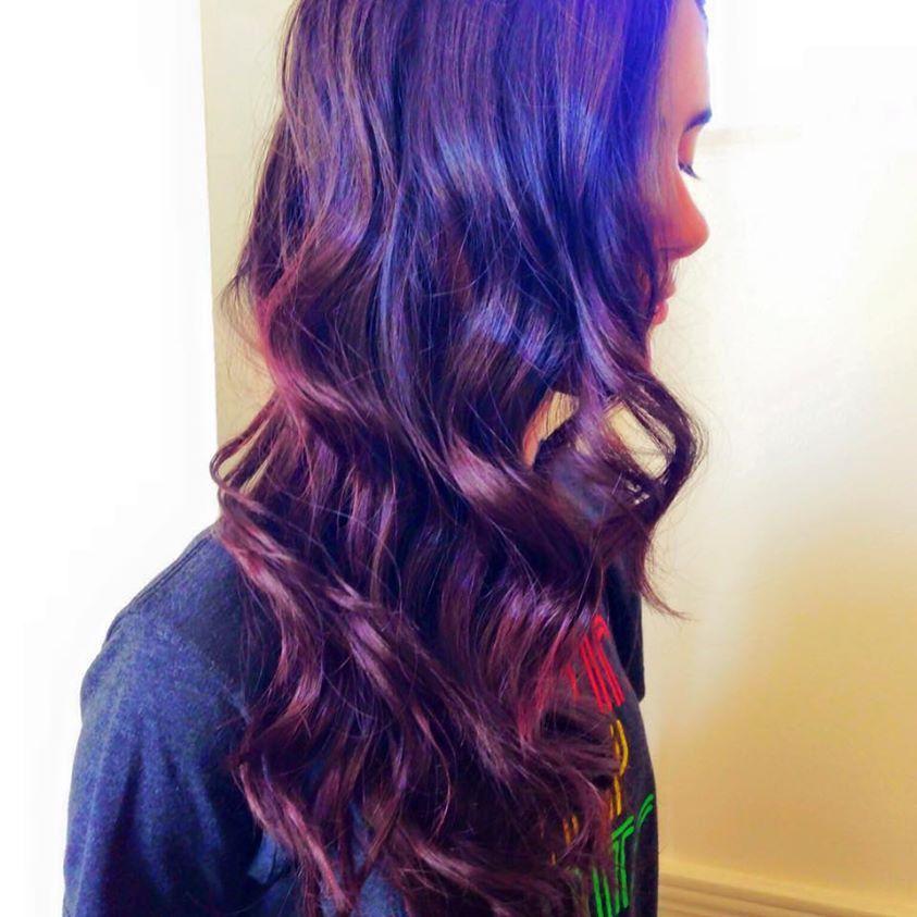 Brown Violet Hue Hair Color Hair Pinterest Hair Coloring