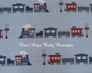 Train Themed Child's Bedroom Decorating Ideas. #trains #decoratingideas #children