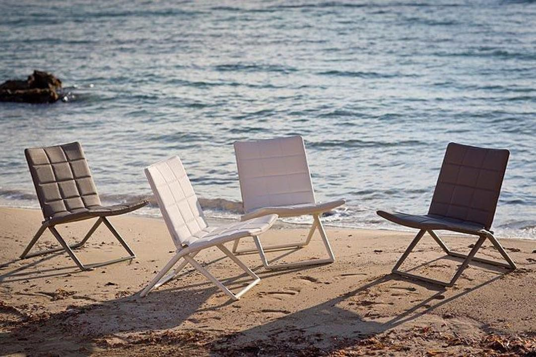 Traveller folding chairs on the beach 💦 outdoorfurniture