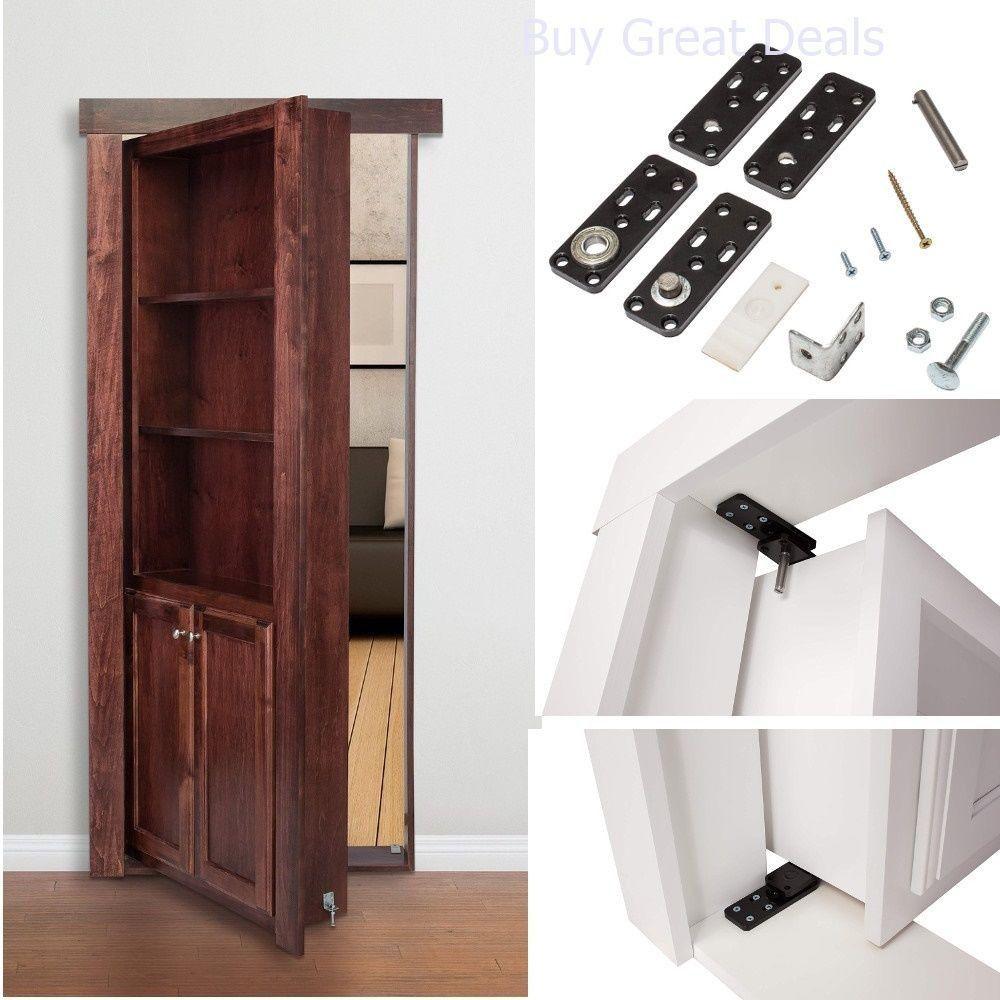 Hidden Door Hinges Invisible For Cabinet Doors Murphy Secret Door Hinge System Murphydoor Hidden Door Hinges Hidden Door Bookcase Bookcase Door