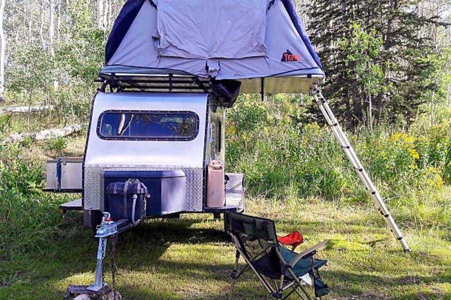 2017 Custom Teardrop Camper Trailer Rental in Salt Lake