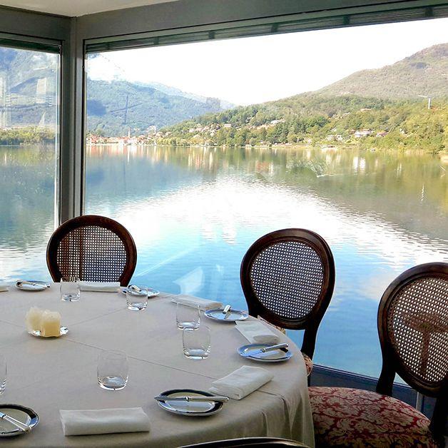 Ristorante Piccolo Lago, Mergozzo- due stelle Michelin