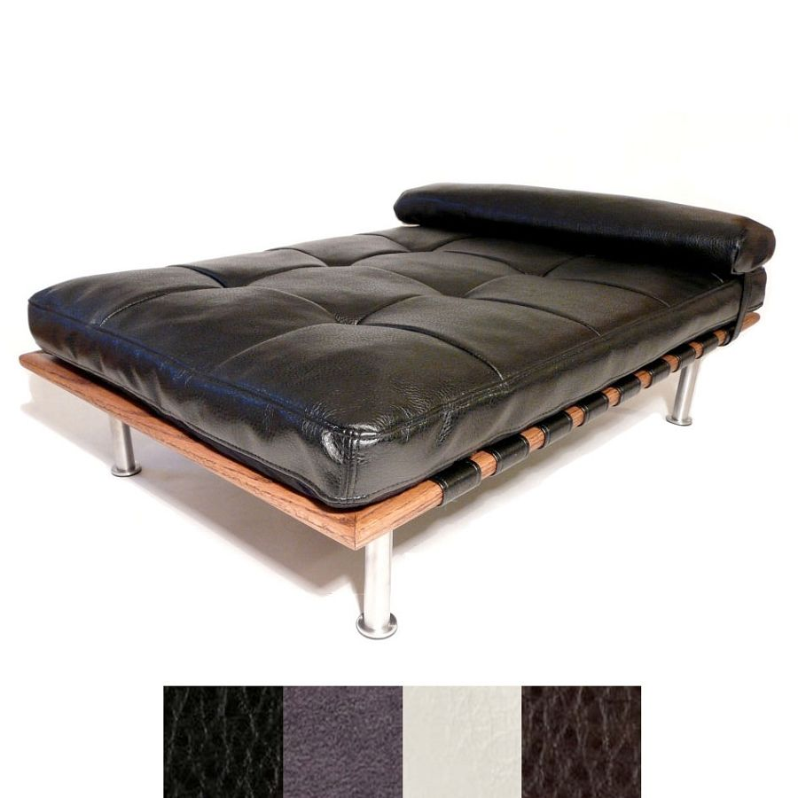 chic penelope modern dog day bed  designer dog beds for small  - chic penelope modern dog day bed  designer dog beds for small dogs atglamourmutt