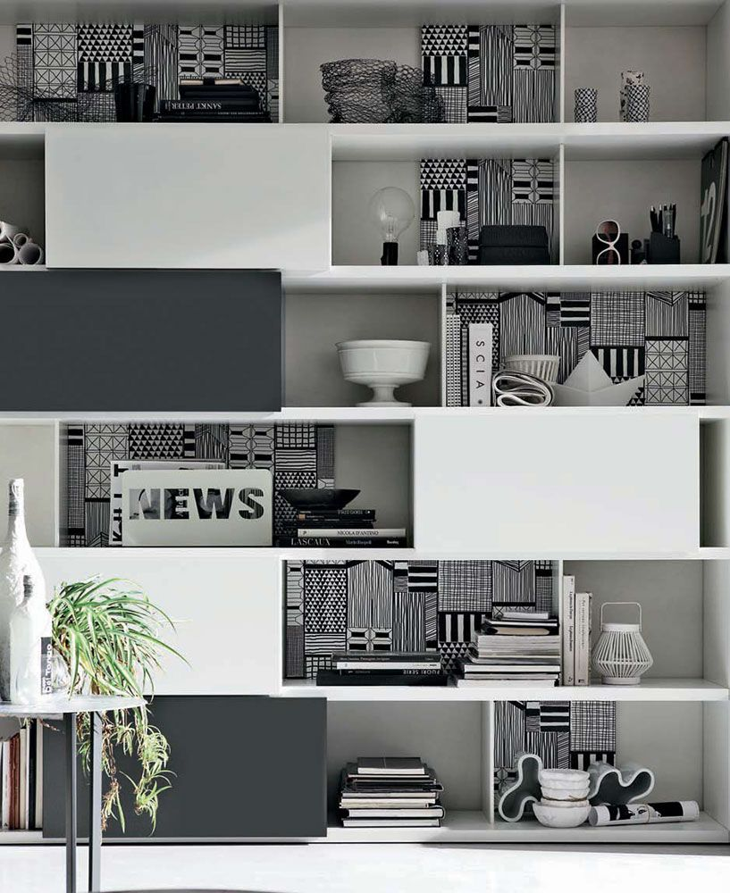Soggiorni Moderno Step Mondo Convenienza La Nostra Forza  # Meuble Tv Forza