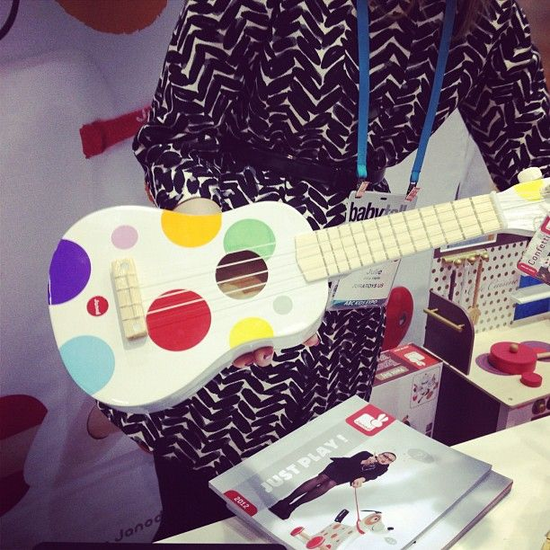 Janod's ukelele was also a fun find!