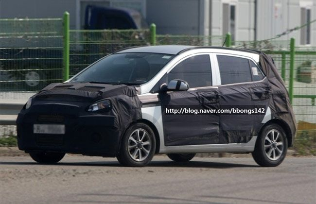Next Generation Hyundai I20 Spotted Testing In Korea Hyundai Hyundai Cars Generation