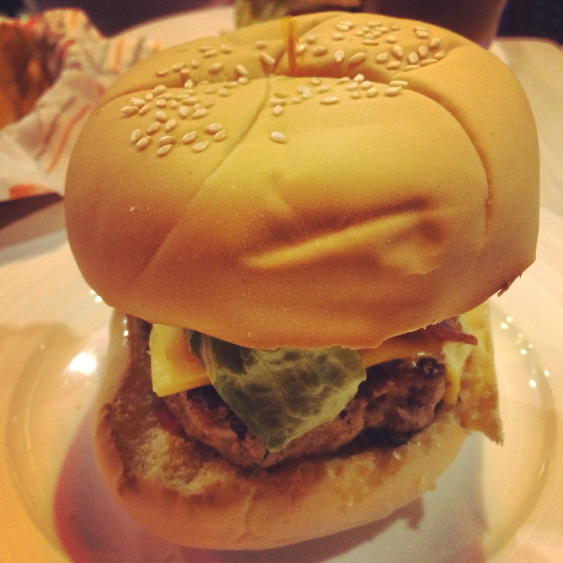 Every inch of you is perfect from the bottom to the top... :) Welcome to the burger world