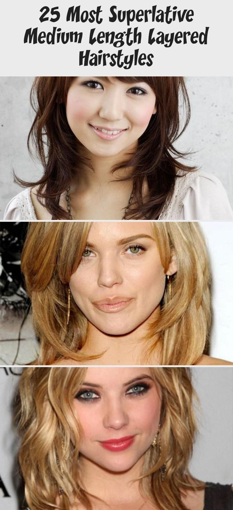 25 Most Superlative Medium Length Layered Hairstyles - Hair Styles - Every  woma...#hair #hairstyles #l… in 2020 | Medium length hair with layers, Layered  hair, Hair styles