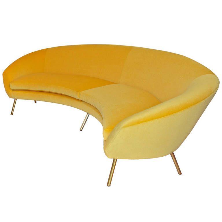 Rare Sofa by Rossi di Albizzate   Modern, Mid century and Mid ...