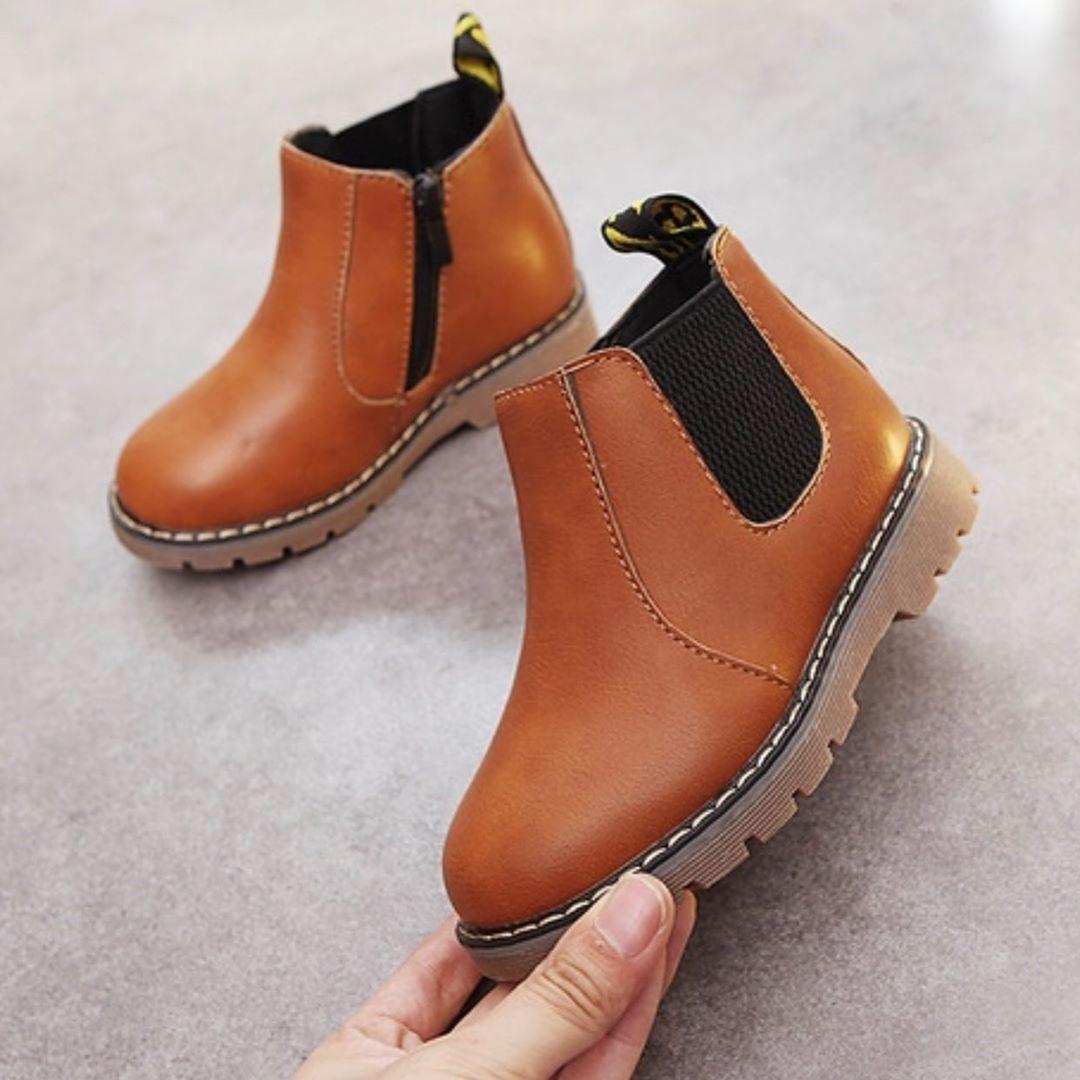 Cute Chelsea boot baby boy shoe Status