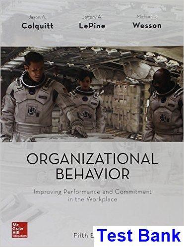organizational behavior colquitt 3rd edition pdf.zip