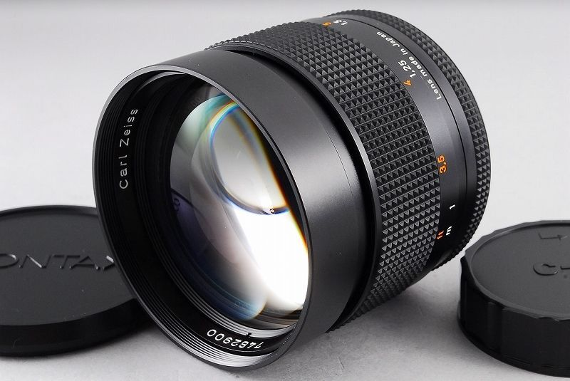 Contax Carl Zeiss Planar 85mm f/1 4 T* MMJ Lens from Japan