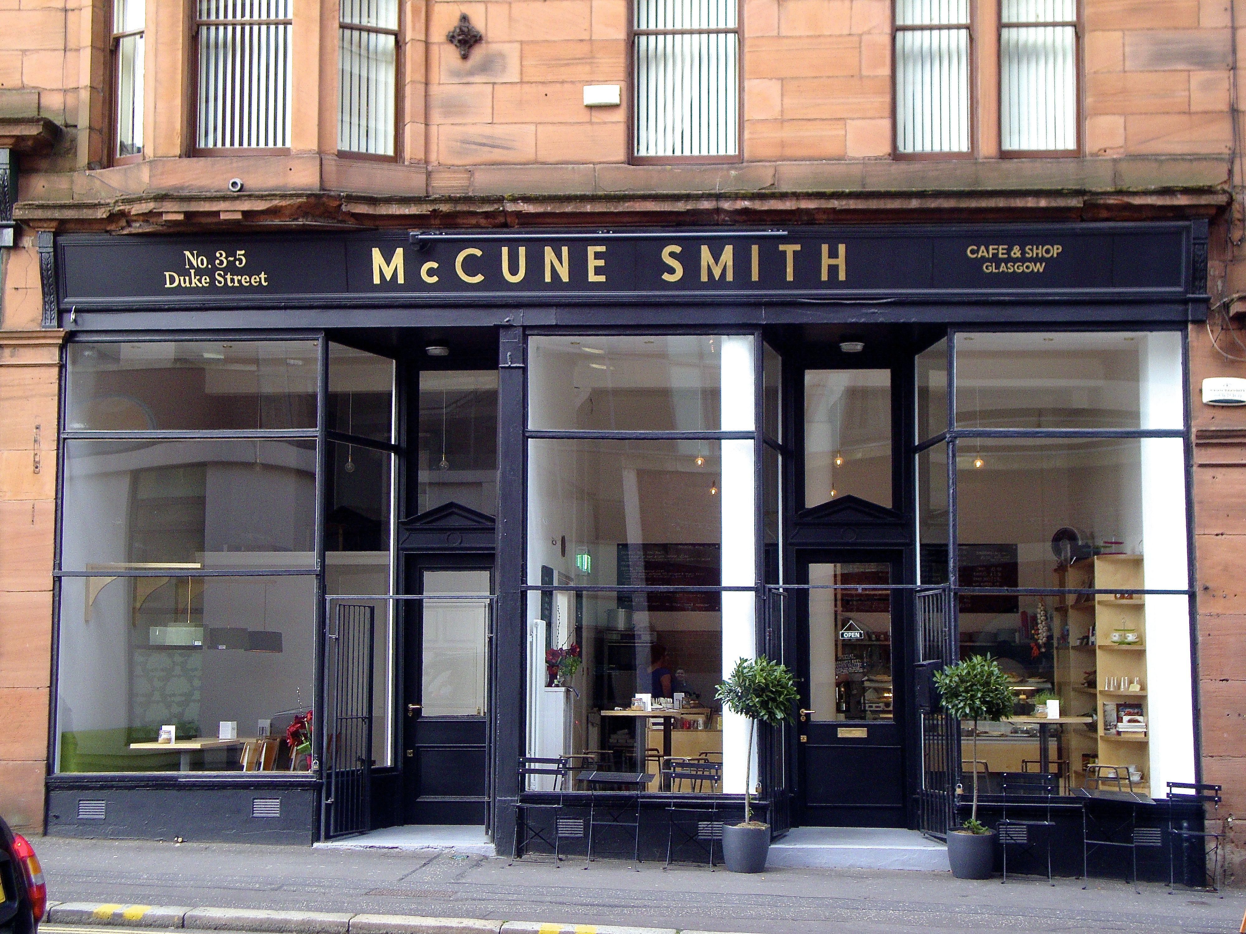 Cafe Gem Mccune Smith On Duke Street Cafe Glasgow Necropolis Coffee Shop