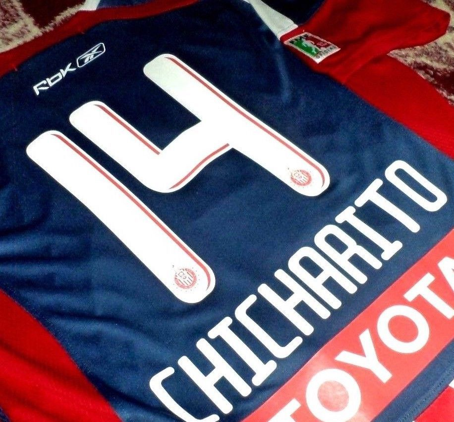 12a94d18feb Jersey chivas guadalajara Chicharito Javier Hernandez Mexico rare mexico  2008 08 (eBay Link)