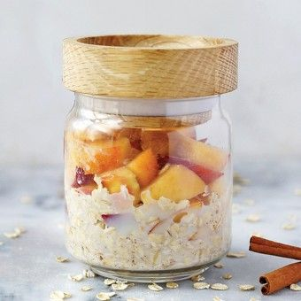 peachy keen overnight oats