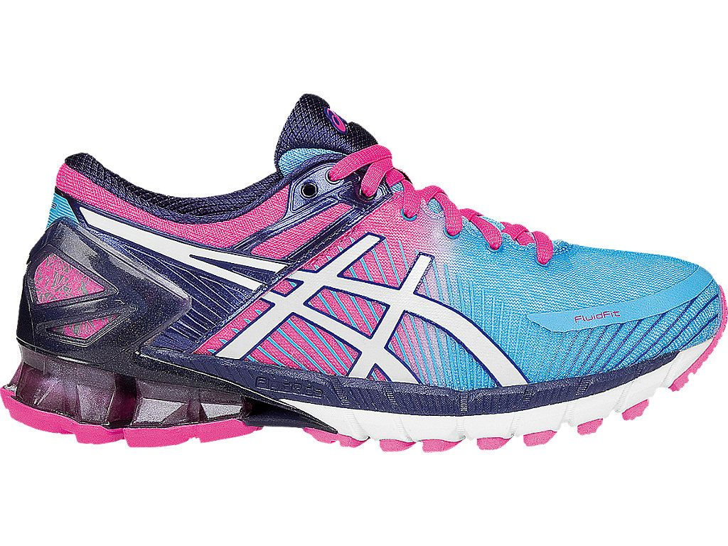GEL Kinsei 6 | Women | AquariumWhiteHot Pink | ASICS US